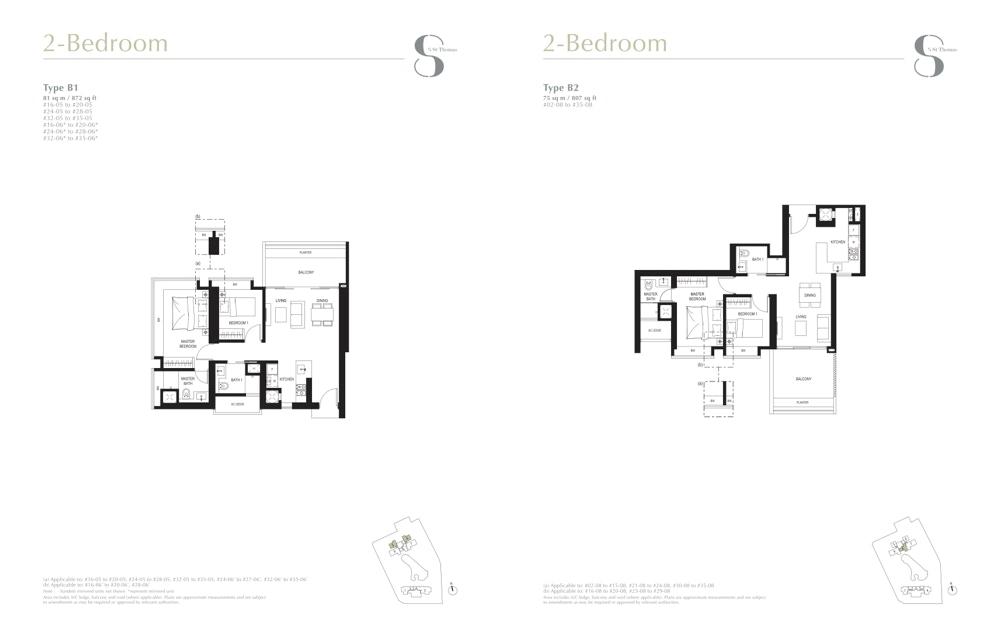 8 St Thomas Floor Plans